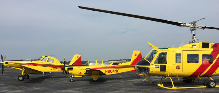 NCFS Aircraft on Tarmac