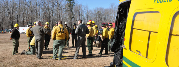 Crews prepare for air ops training