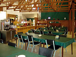 Mountain Training Facility dining hall